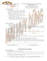Tổng hợp đề thi vào lớp 10 môn Vật Lý tỉnh Thanh Hoá