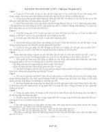 Đề kiểm tra HSG lớp 9 đề 2