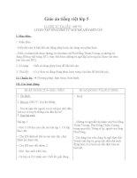 Giáo án tiếng việt 5 tuần 26 bài luyện tập thay thế từ ngữ để liên kết câu2