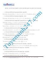 1000 bài tập chọn lọc môn Toán theo chuyên đề và dạng  có lời giải chi tiết  6 chuyen de so phuc