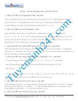 1000 bài tập chọn lọc môn Toán theo chuyên đề và dạng  có lời giải chi tiết  8 chuyên đề hình học phẳng