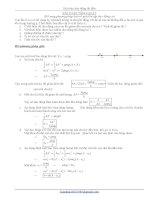 Bổ sung phương pháp luận về dao động tắt dần