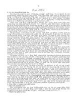 Giải pháp phát triển quan hệ thương mại giữa việt nam và các nước trong liên minh thuế quan miền nam châu phi (SACU) (TT)