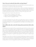 Download Đề cương ôn tập môn CÔNG NGHỆ KHOAN DẦU KHÍ  Trường Đại Học Mỏ  Địa Chất Hà Nội
