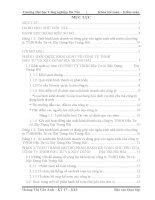 THỰC TRẠNG MỘT SỐ PHẦN HÀNH KẾ TOÁN CHỦ YẾU CỦA  CÔNG TY TNHH ĐẦU TƯ VÀ XÂY DỰNG ĐỊA TRUNG HẢI