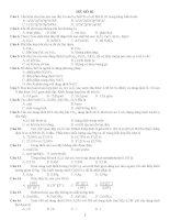 tuyển tập câu hỏi lí thuyết ôn thi đại học môn hóa