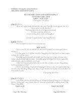 Đề thi và gợi ý thi học sinh giỏi môn ngữ văn lớp 9 tham khảo bồi dưỡng (2)