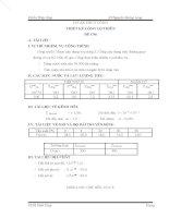 ĐỒ án THỦY CÔNG THIẾT kế CỐNG lộ THIÊN đề c96