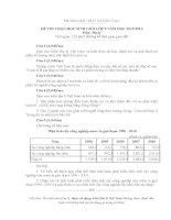 Đề thi HSG địa lý 9 có đáp án 2015