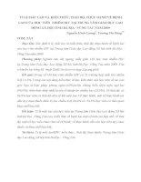 TỈ LỆ MẮC LAO VÀ KIẾN THỨC, THÁI ĐỘ, THỰC HÀNH VỀ BỆNH LAO CỦA HỌC VIÊN  NHIỄM HIV TẠI TRUNG TÂM GIÁO DỤC LAO ĐỘNG XÃ HỘI TỈNH BÀ RỊA –VŨNG TÀU NĂM 2009