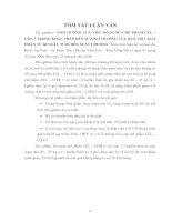 ẢNH HƯỞNG CỦA VIỆC BỔ SUNG CHẾ PHẨM CEL – CON 5 TRONG KHẨU PHẦN ĐẾN SỰ SINH TRUỞNG CỦA HEO THỊT GIAI ĐOẠN TỪ 60 NGÀY TUỔI ĐẾN XUẤT CHUỒNG