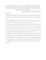 ĐẶC ĐIỂM DỊCH TỄ VÀ LÂM SÀNG CỦA BỆNH NHÂN NHIỄM HIV MẮC LAO PHỔI TẠI TRUNG TÂM GIÁO DỤC LAO ĐỘNG XÃ HỘI TỈNH BÀ RỊA –VŨNG TÀU NĂM 2009