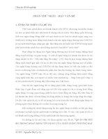 QUẢN TRỊ RỦI RO TRONG HOẠT ĐỘNG TÍN DỤNG CỦA NGÂN HÀNG THƯƠNG MẠI CỔ PHẦN NGOẠI THƯƠNG CHI NHÁNH HUẾ