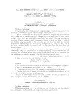 Bài Tập Tình Huống Tâm Lý Học Lứa Tuổi Và Tâm Lý Học Sư Phạm