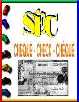 Bài giảng về check, theo các loại tiếng khác nhau