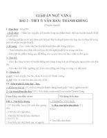 Giáo án ngữ văn 6 bài 2 thánh gióng