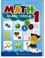 Math in my world 1