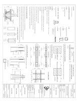 Hồ sơ thiết kế kết cấu nhà phố