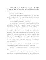 NHỮNG NHÂN TỐ ẢNH HƯỞNG TRỰC TIẾP ĐẾN CẠNH TRANH ĐẤU THẦU XÂY DỰNG CỦA TỔNG CÔNG TY ĐẦU TƯ PHÁT TRIỂN HẠ TẦNG ĐÔ THỊ