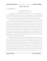 Tìm hiểu nhận thức của các bậc phụ huynh về nội dung giáo dục mẫu giáo trong gia đình khu vực sóc sơn   hà nội