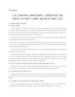 chương 1 các phương pháp điều chỉnh tốc độ động cơ một chiều kích từ độc lập