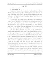 Nghiên cứu sự biến động thành phần loài ve giáp (acari oribatida) tại đai cao địa lý rừng kim giao   vườn quốc gia cát bà   huyện cát hải   hải phòng