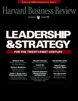 H business review leadership and strategy 012008