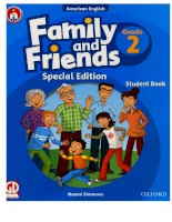 Family and friends grade 2 special edition student book