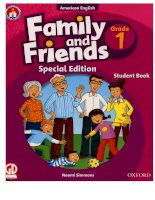 Family and friends grade 1 special edition student book
