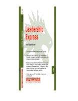Capstone 08 01 leadership express