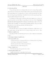 Ứng dụng tam thức bậc 2 trong giải toán và sáng tạo các bài toán sơ cấp