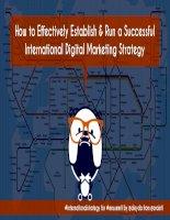 3 steps to establish a successful international digital marketing process