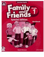 Family and friends grade 1 special edition workbook