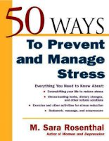 50 ways to prevent and manage stress