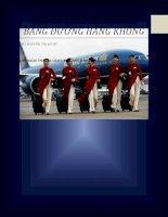 Tiểu luận môn vận tải bảo hiểm ngoại thương Vận chuyển hàng hóa bằng đường hàng không