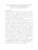 Ảnh hưởng của niềm tin vào các các hoạt động bói toán đến định hướng trong việc lựa chọn bạn đời của thanh niên hiện nay(Nghiên cứu trường hợp Quận Thanh Xuân, Hà Nội