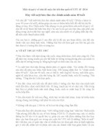 Một vài gợi ý về chủ đề cuộc thi viết thư quốc tế UPU 45