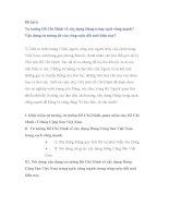 Đề tài 3:Tư tưởng Hồ Chí Minh về xây dựng Đảng trong sạch vững mạnh? Vận dụng tư tưởng đó vào công cuộc đổi mới hiện nay