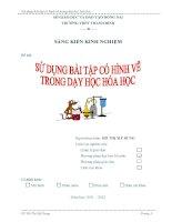 skkn sử DỤNG bài tập có HÌNH vẽ TRONG dạy học hóa học