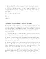 VẬN DỤNG QUAN ĐIỂM CỦA CHỦ NGHĨA MÁC LÊNIN VỀ SỰ MÂU THUẪN VÀO TRONG VIỆC KẾT HỢP CÁC MẶT ĐỐI LẬP Ở NƯỚC TA HIỆN NAY
