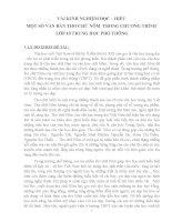 skkn vài KINH NGHIỆM đọc – HIỂU một số văn bản THƠ CHỮ nôm  TRONG CHƯƠNG TRÌNH lớp 10 TRUNG học PHỔ THÔNG
