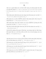 Ngân hàng câu hỏi và đáp án môn Luật tố tụng hình sự - LAW 305