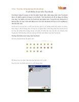 Cách thêm Icon trên Facebook