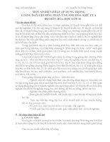 skkn một số BIỆN PHÁP áp DỤNG TRONG GIẢNG dạy CHƯƠNG PHẢN ỨNG OXI hóa KHỬ của bộ môn hóa học lớp 10