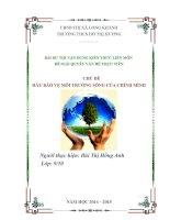Bài dự thi kiến thức liên môn dành cho học sinh trung học cơ sở (17)