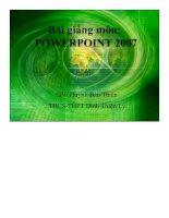 Bài giảng microsoft powerpoint 2007   phần 1