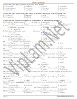 Đề thi và đáp án ôn thi tiếng anh lớp 12 tham khảo bồi dưỡng (24)