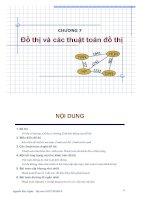 Bài giảng cấu trúc dữ liệu thuật toán  chương 7   nguyễn đức nghĩa