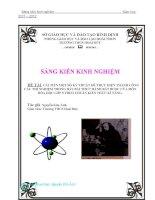 SKKN- Cải tiến một số ký thuật để thực hiện thành công các thí nghiệm trong bảy bài thực hành bắt buộc của môn Hóa học lớp 9
