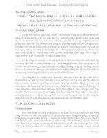 skkn TĂNG CƯỜNG BIỆN PHÁP QUẢN lý sử DỤNG cơ sở vật CHẤT HIỆU QUẢ TRONG CÔNG tác đào tạo tại TRUNG tâm kỹ THUẬT TỔNG hợp – HƯỚNG NGHIỆP ĐỒNG NAI